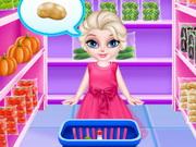 طفل السا في المطبخ