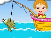 اطفال صيد السمك
