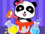 طفل الباندا: ستوديو خلط الالوان