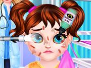 طفل تايلور جراحة العيون