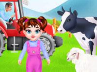 طفل تايلور مزرعة المرح