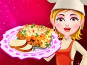 الطبخ - الخبز كب كيك- العاب طبخ بيبي هازل وامها