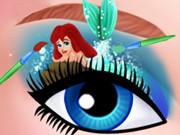 الفنانه: مكياج عيون باربي