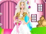 حفل زفاف باربي تلبيس العروسة