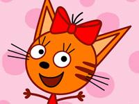 تعليمية للاطفال 4 سنوات- العاب عائلة القطط