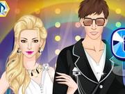 الازواج المشاهير