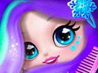 صالون قص شعر الاطفال- العاب تلبيس بنات ومكياج وقص شعر للاطفال