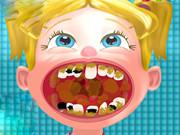 تنظيف الاسنان من الجراثيم عند الدكتور