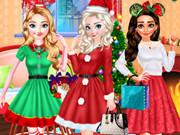 أميرة ديزني حفلة الكريسماس