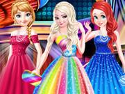 أزياء وملابس موضة حفلة موسيقية أميرات ديزني