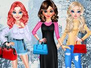 أميرات ديزني أزياء الشتاء 2