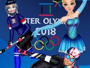 دورة الالعاب الاولمبية الشتوية ديزني