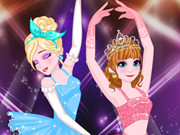 انا والسا راقصات الباليه