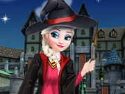 elsa first day in hogwarts school