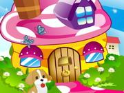 ديكور منزل الفطر الخيالي
