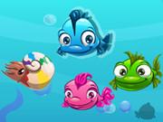 لغز السمك الملون