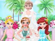 فتيات الزهور في عرس إلسا