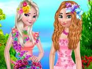تلبيس ملابس الزهور