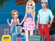 الاسرة المجمدة عطلة الصيف