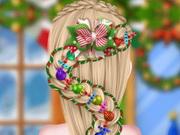 تصميم قصة شعر الكريسماس الاخت المجمدة