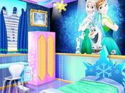 تزيين غرفة نوم الاخوات المجمدة