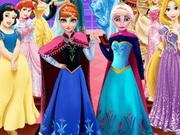 الأخوات المجمدة تمثال الشمع