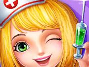 دكتور في المستشفى- لعبة طبيب العمليات الجراحية الخطيرة للكبار فقط