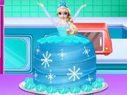 كيفية صنع كعكة الاميرة المجمدة