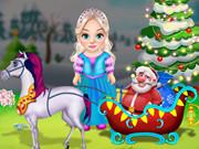 تنظيف عربة الكريسماس