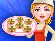 بيبي هازل طبخ ميني بيتزا