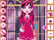 الوحش السامي دراكي لورا ملابس المدرسة