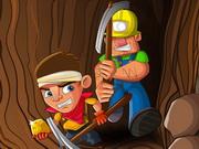 التنقيب عن الذهب مع الرجل العجوز- العاب البحث عن الذهب تحت الارض