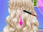 الأميرة تصميم تصفيفة الشعر المختلفة