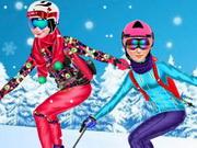 الاميرات الذهاب للتزلج