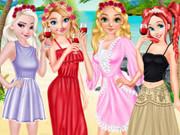 الأميرات حفل تخرج الشاطئ