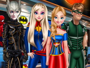 Princesses Style Marvel Or DC