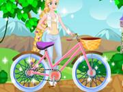 إصلاح دراجة رابونزيل