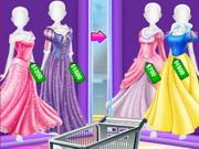 الأخوات تسوق ازياء الأميرة
