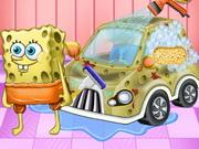 تنظيف وتزيين سيارة سبونج بوب