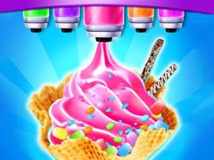 متجر الحلويات والايس كريم- العاب الايسكريم طبخ